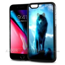 ( For iPhone 4 / 4S ) Back Case Cover AJ10640 Night Wolf