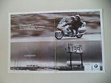 advertising Pubblicità 2000 MOTO BMW K 1200 LT