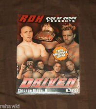 ROH DRIVEN (DVD) 2007 *BRAND NEW* RING OF HONOR WWE PWG *RARE*