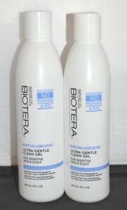Biotera Hypoallergenic Ultra Gentle Clean Gel 8 oz - For Sensitive Scalp (2 pk)
