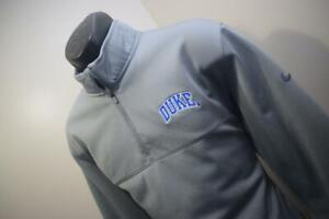 Nike Golf Jacket Therma Fit Standard Fit Duke University Gray Mens Size Large