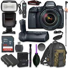 Canon EOS 6D Mark II DSLR with EF 24-105mm f/4L IS II USM Lens +  (17 items)