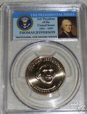 2007-P Thomas Jefferson First Day Of Issue PCGS MS67