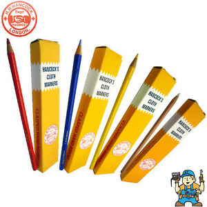 Hancocks Cloth Marking Chalk Pencils - 10 Per Pack -  All Colours Available
