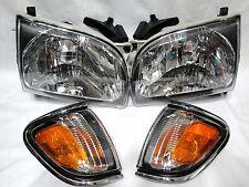 For 01-04 Tacoma Head Light Lamp RL H & Corner Park Light Lamp RL H W/Bulbs NEW