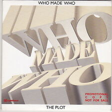 Who Made Who - The Plot - CD (Card Sleeve Promo with Different Cover)