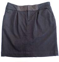 Womens Size 2 Mossimo Stretch Dark Dress Denim Skirt, Straight Style