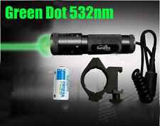 Green Laser Dot Sight Scope 20mm Picatinny Mount For Rifle Pistol New Style