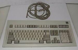 IBM 1390131 Clicky PS/2 Model M Keyboard 5170 AT BUCKLING SPRING 05OCT86