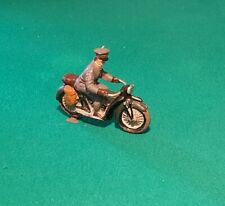 GERMAN MOTOCYCLE - ELASTOLIN COMPOSITION - ORIGINAL PREWAR - 6 CM SCALE