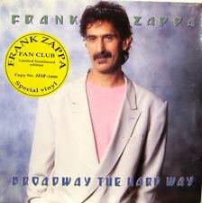 "FRANK ZAPPA ""BROADWAY THE HARDWAY""  lp lim.numb.edition purple vinyl mint"
