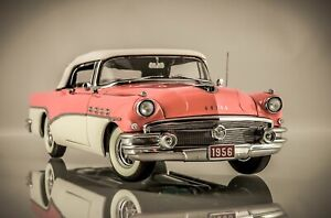 Danbury/Franklin mint 1:24 1956 Buick Roadmaster convertible Classic Model boxed