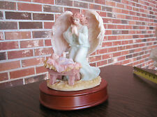 "1993 SERAPHIM CLASSICS ANGEL FRANCESCA ""LOVING GUARDIAN"" MUSICAL FIGURINE"