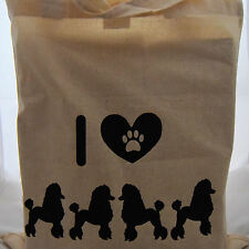 Tote Bag for poodle dog lovers ideal fun gift birthday mother days
