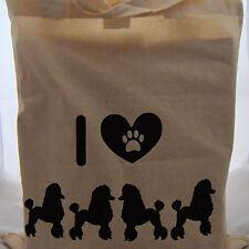 Tote BAG per gli amanti Barboncino Cane Ideale Divertente Regalo Di Compleanno Madre giorni