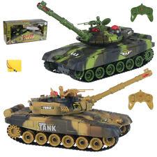 2 x XXL Ferngesteuerter Panzer RC groß Tank Panzer Kinder Spielzeug Geschenk