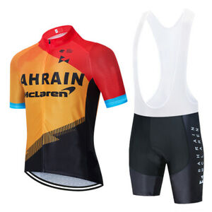 2020 TEAM BAHRAIN cycling  jersey 20D bike Shorts set mtb Ropa mens summer