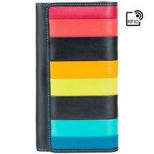 NEW Women's RFID Blocking Large Leather Clutch Wallet Purse Cash Coin Cards