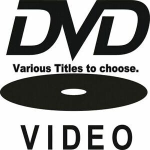 DVD - Mixed Thriller & Horror Titles from $4.50. See Drop Menu