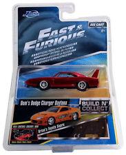 Jada 14026-W2 1:55 Scala Fast & Furious Pressofuso di DOM Dodge Charger Daytona