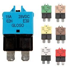 Interruptor de circuito 5-30A 12/24V Fusible de lámina Reajustable Barco Rally automotriz Kit caliente