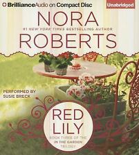 Nora Roberts RED LILY Unabridged CD *NEW* FAST 1st Class Ship!