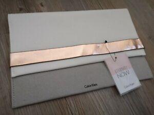 Calvin Klein Clutch, Tasche, Handtasche, selten, stylish, Luxus, edel, elegant
