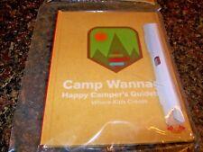 Wendy's Camp Wannago Happy Camper's Guidebook Where Kids Create Meal Toy NIP