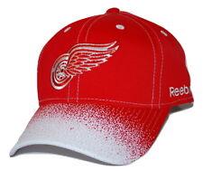 Detroit Red Wings Reebok NHL Spray Bill Hockey Team Cap Adjustable Hat