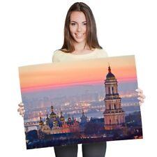 A1 - Kiev Ukraine Kyiv Sunset View Poster 60X90cm180gsm Print #21759
