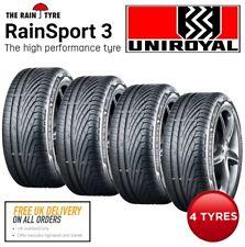 4 x 225/40 R18 92Y XL Uniroyal RainSport3 Tyres. Same Day Dispatch before 1pm.