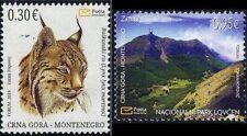 MONTENEGRO/2019, Environment Protection (Lynx, National Park, Fauna), MNH