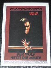 Filmkarte - Cinema - Der Wolf hetzt die Meute