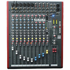 Allen & Heath Zed-12fx - 12 Channel Usb/live Mixing Desk With FX