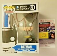 ~~ CHRISTIAN BALE Authentic Hand-Signed ~BATMAN~ POP vinyl (JSA COA) Begins~~
