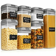Shazo Airtight Container Set Grey Food Storage - 7 Piece Food Storage $40 Retail