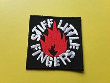 POP, ROCK, PUNK, METAL MUSIC SEW ON & IRON ON PATCH:- STIFF LITTLE FINGERS