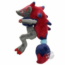 "Pokemon Zorua Zoroark Stuffed Animal Toy Soft Plush Doll Figure 12"" Xmas Gift"