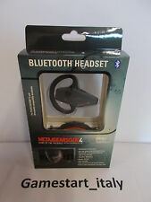 METAL GEAR SOLID 4 HEADSET BLUETOOTH LIMITED EDITION (PS3) NEW NUOVO SIGILLATO