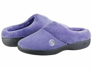 Woman's Slippers Isotoner Terry Slip in Memory Foam Clog