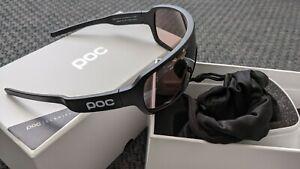 POC DO Blade Cycling Glasses Black Frame/Violet Clarity Lens + Spare LensNEW
