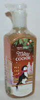 NEW BATH & BODY WORKS MERRY COOKIE DEEP CLEANSING HAND SOAP WASH 8 OZ VANILLA