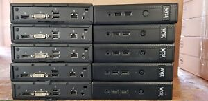 JOB LOT OF 10 X WYSE D50D THIN CLIENT + PSU  2GB RAM / 2GB FLASH / LINUX