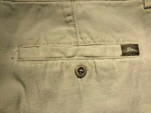 Mens Tommy Bahama Relax Cargo Shorts Size 36 -  Tencell / Cotton - Off White