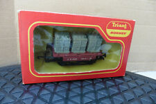 OO TRIANG HORNBY THREE CONTAINERS WAGON BOXED R.340