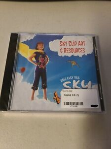 NEW SEALED - 2012 Sky Clip Art & Resources Easy VBS SKY Group