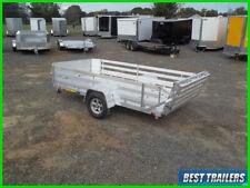 2021 aluma 7712 H bt aluminum utiltiy w 24in side rail kit 6 x 12 trailer