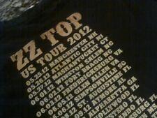 Zz Top 2012 Us Tour Concert T-Shirt