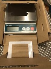 Taylor Te10c Scale With Electric Wall Plug - New In Box