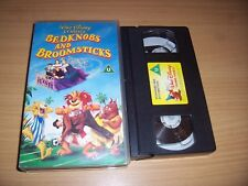 BEDKNOBS AND BROOMSTICKS WALT DISNEY CLASSICS VHS